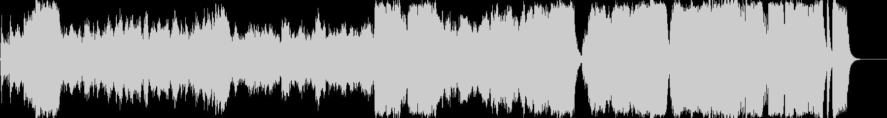 ファンタジー ゲーム オーケストラ お城の未再生の波形