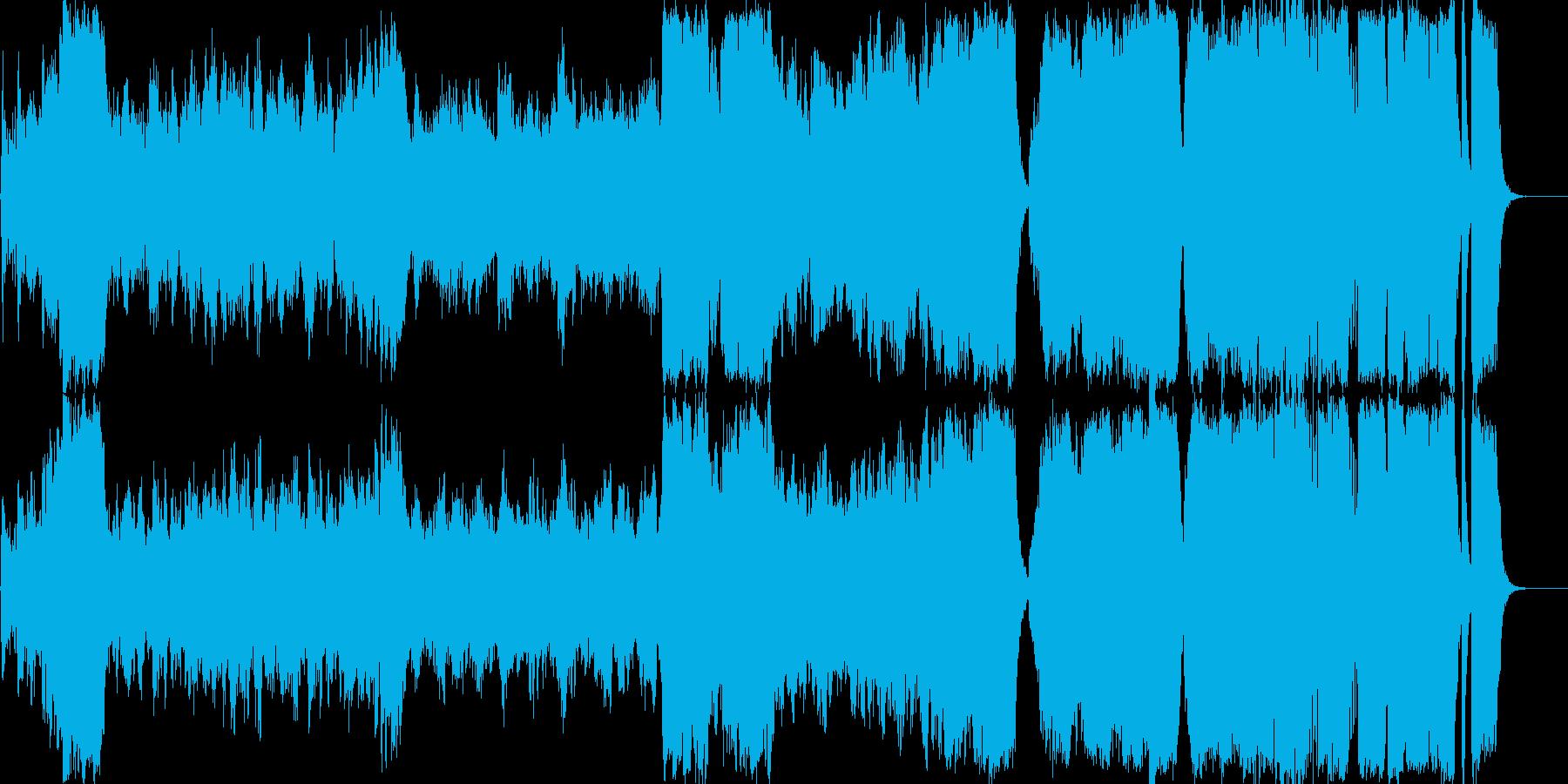 ファンタジー ゲーム オーケストラ お城の再生済みの波形