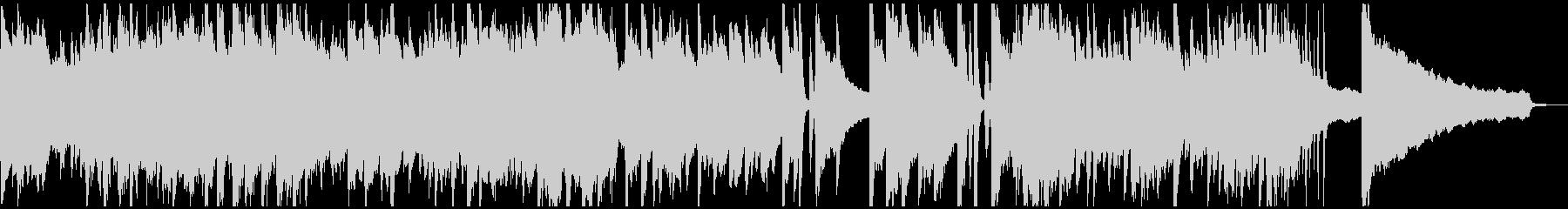 ピアノのおしゃれなウェディングソングの未再生の波形