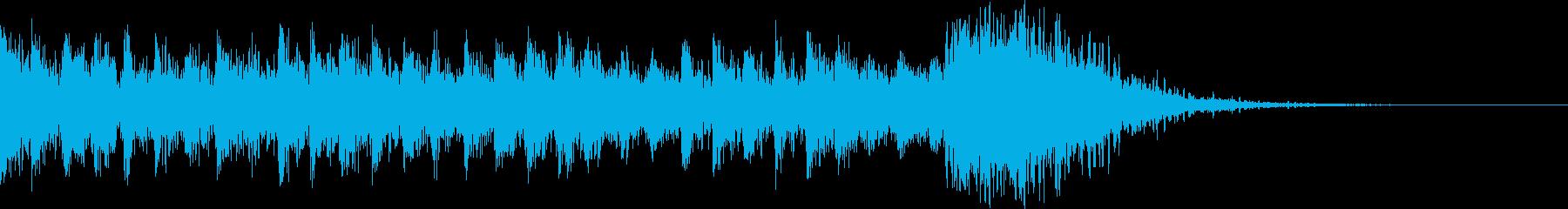 機械的動きからの斬鉄の再生済みの波形