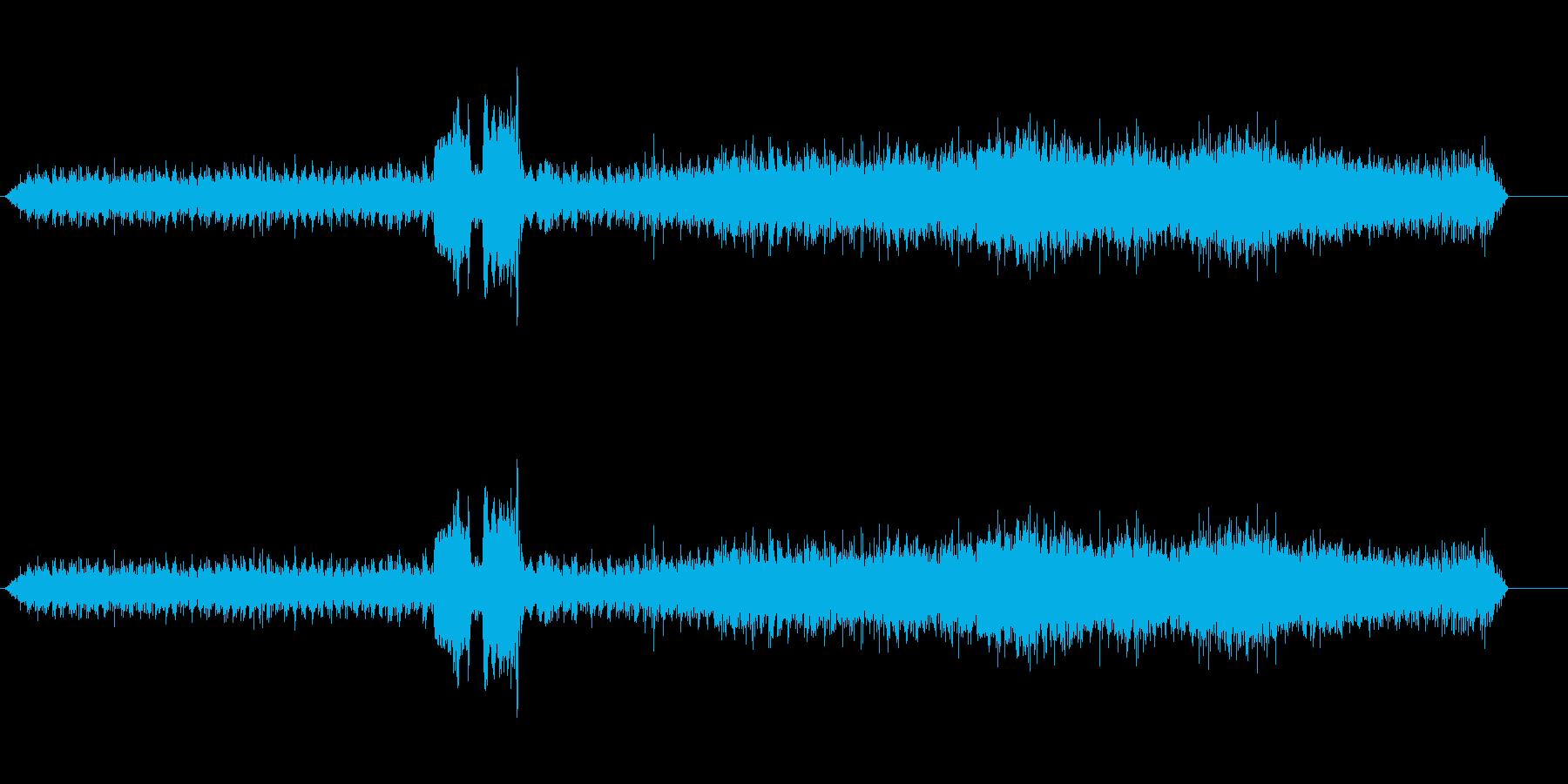 トレイン2エアブレーキリリースの再生済みの波形