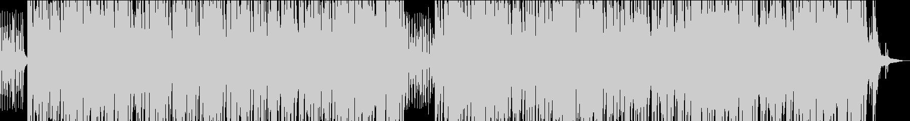 ゆっくりしたアコースティックなボサノバの未再生の波形