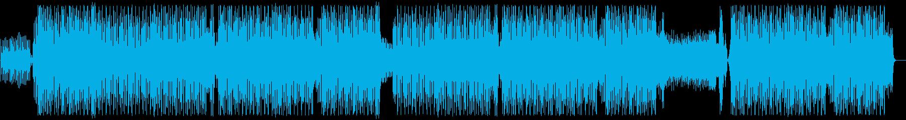オシャレなハウス・ミュージックトラック♪の再生済みの波形