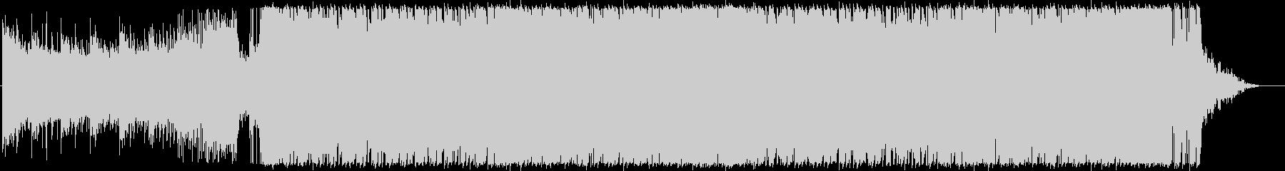 ジングル - ハイテンションの未再生の波形