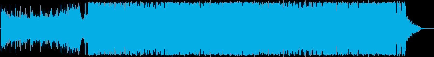 ジングル - ハイテンションの再生済みの波形
