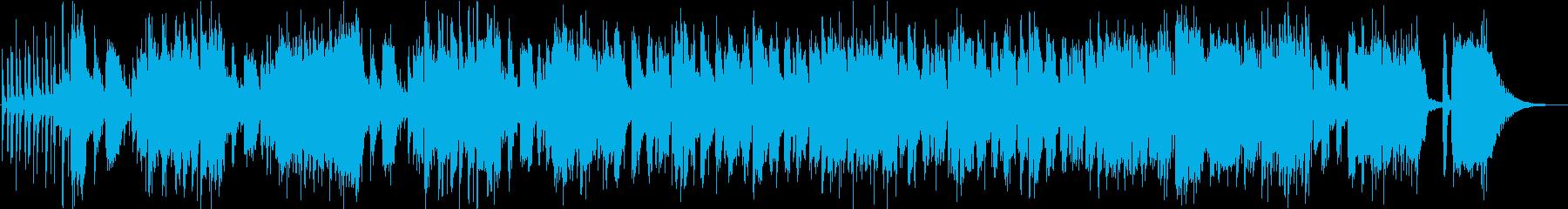 ノリノリでかっこいいジャズ【短縮版の再生済みの波形