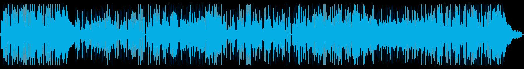 生サックス 楽しげなポップフュージョンの再生済みの波形