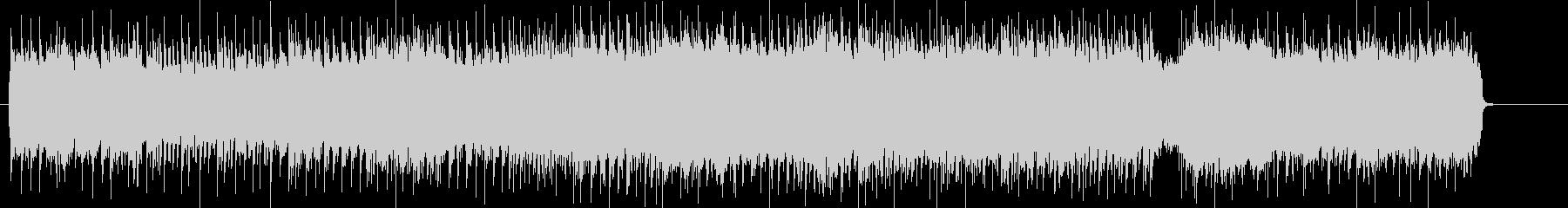 ポジティブなハード&ヘヴィー・サウンドの未再生の波形
