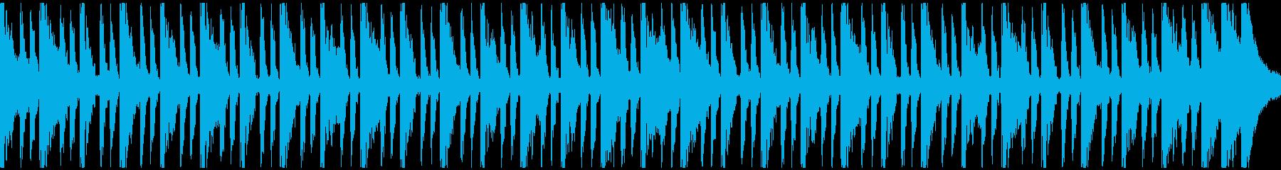 スポーツアクション(ループ)の再生済みの波形