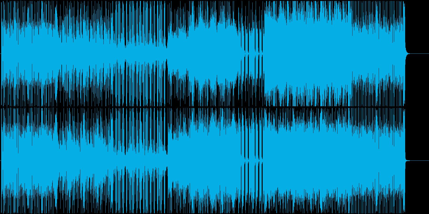 Phasesの再生済みの波形