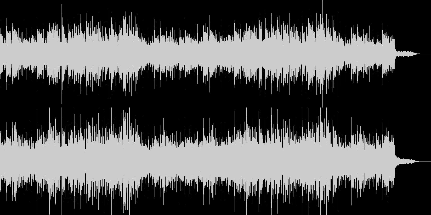 温か 爽やか ピアノ・ギター・オルゴールの未再生の波形