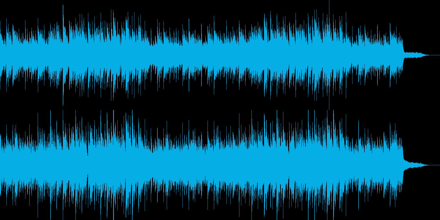 温か 爽やか ピアノ・ギター・オルゴールの再生済みの波形