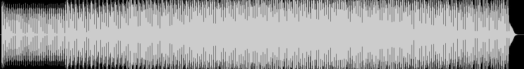 プログレッシブハウスの未再生の波形