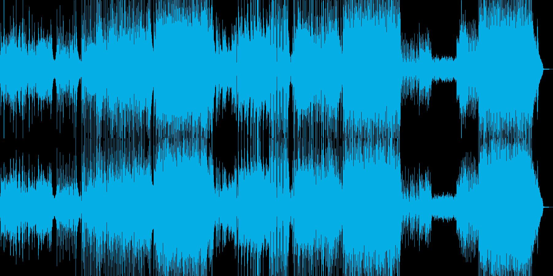 メイン劇的・90年代風バラード 長尺+★の再生済みの波形