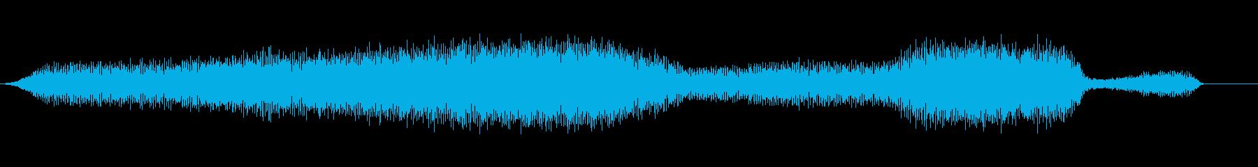 大型ライブスチームモデルトレイン:...の再生済みの波形