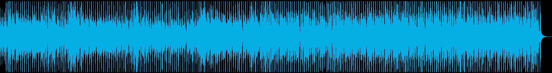 グロッケンとウクレレの楽しいシャッフルの再生済みの波形