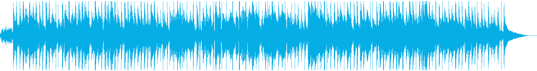 かわいい鉄琴メロの童謡「お正月」ウクレレの再生済みの波形
