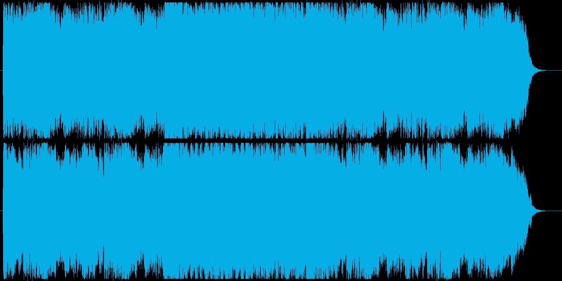 特撮、アニメ、ゲーム等の勝利BGMの再生済みの波形