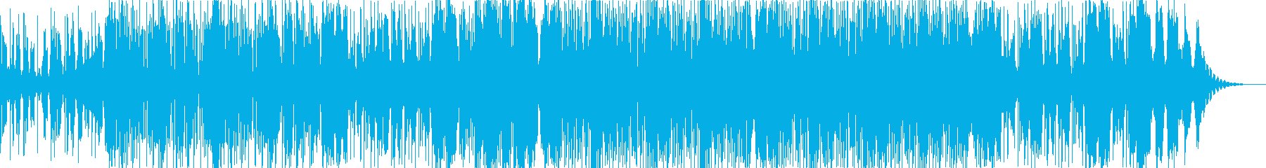 おしゃれな2stepの再生済みの波形