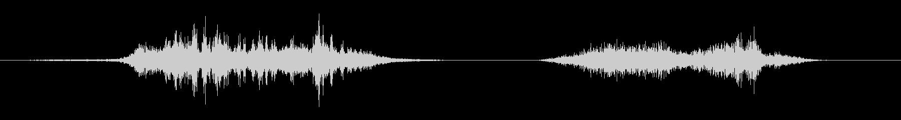 飛行機DH.110シービクセンオー...の未再生の波形