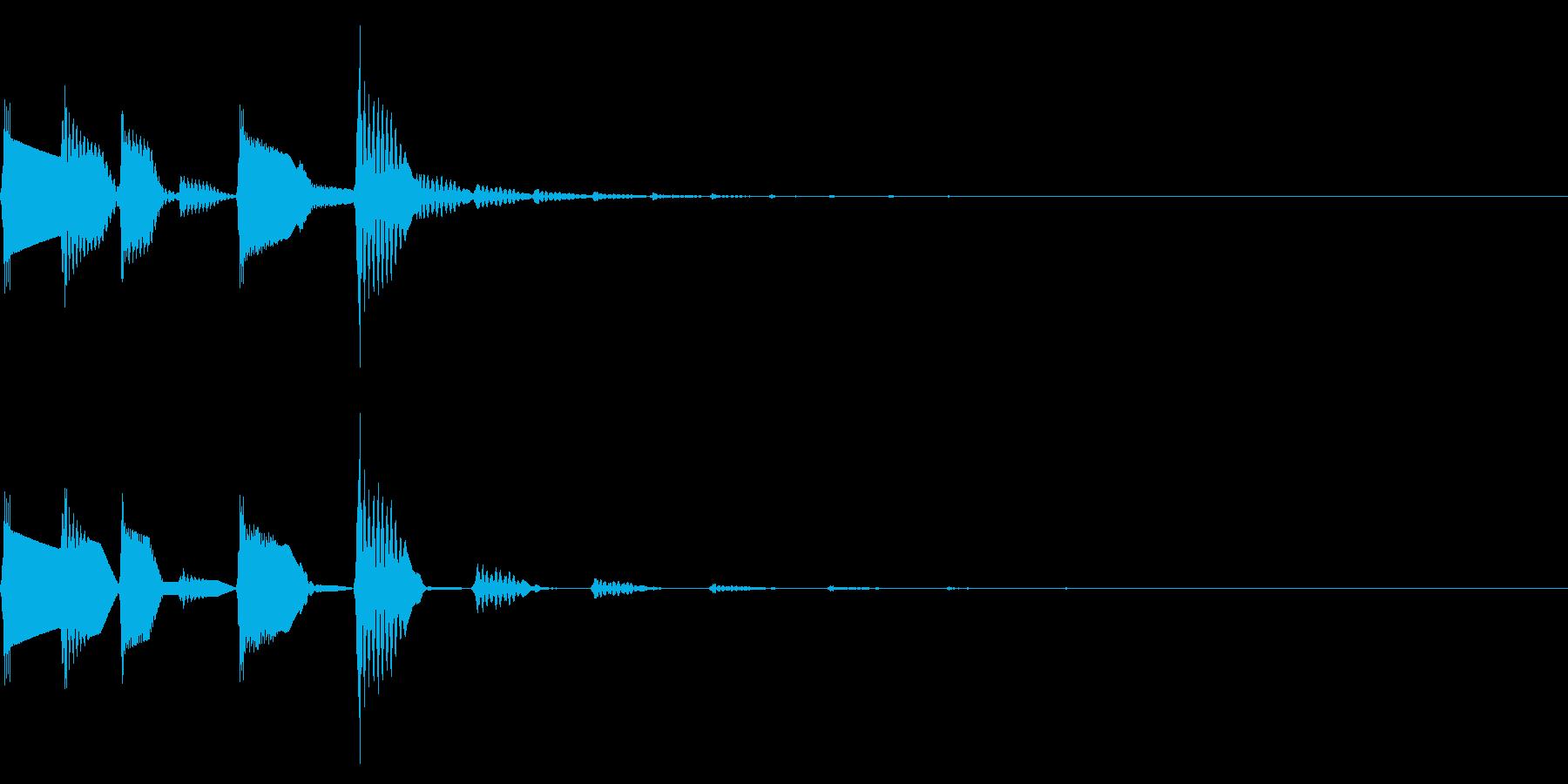 ピコポコ(ファミコンほのぼのアイキャッチの再生済みの波形