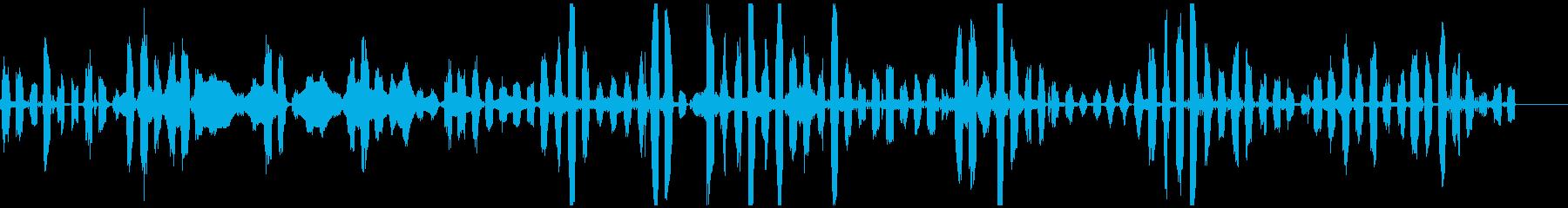 モンスター 妖精 足音 低音 ぶおんの再生済みの波形