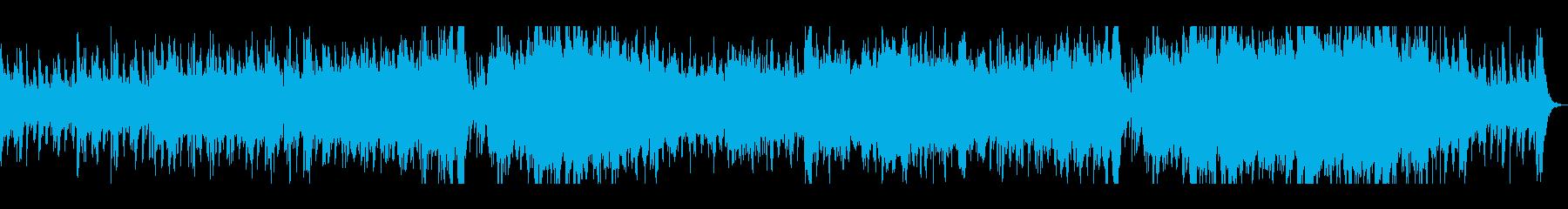 和太鼓のリズムが力強い戦闘シーンBGMの再生済みの波形