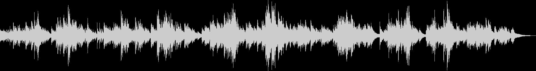 神秘的なピアノBGM(幻想的・美しい)の未再生の波形