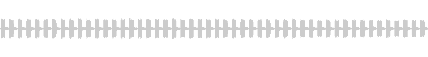 電話受信機のオフフックアラートの未再生の波形