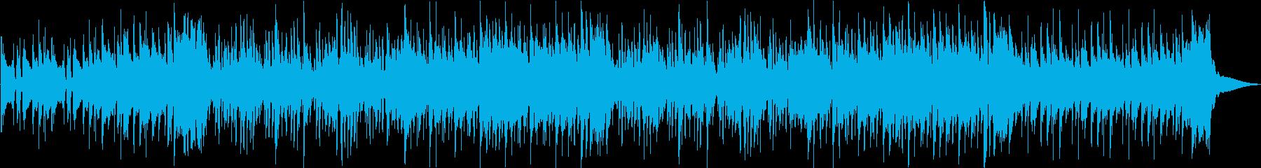 ノリノリでクールなファンキーの再生済みの波形