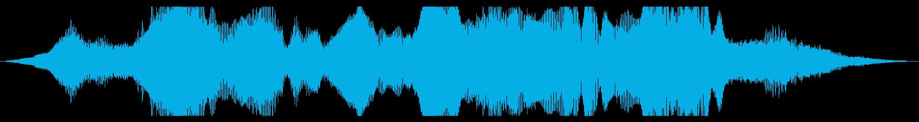 ストレッチメタル、パワーコードトー...の再生済みの波形