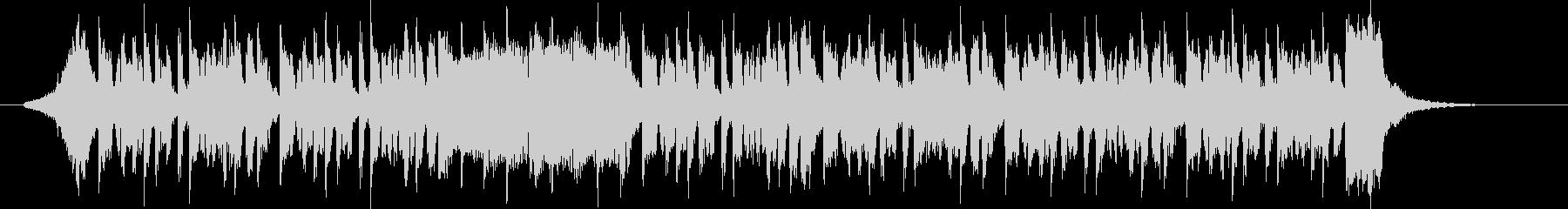 グルーヴィでクールなテクノミュージックの未再生の波形