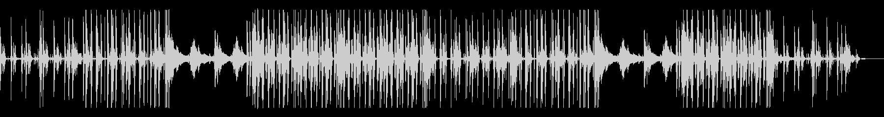 チルアウト、オシャレ、近未来的なBGMの未再生の波形