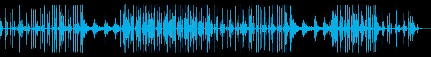 チルアウト、オシャレ、近未来的なBGMの再生済みの波形