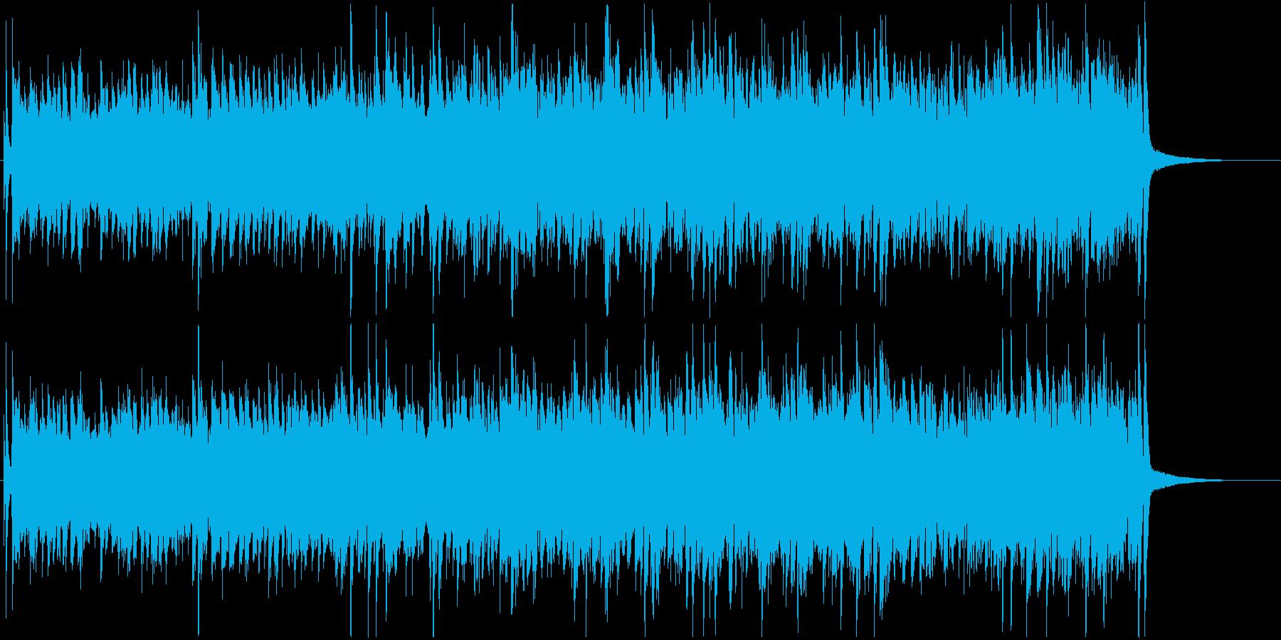 躍動感のある本格的ジャズピアノサウンドの再生済みの波形
