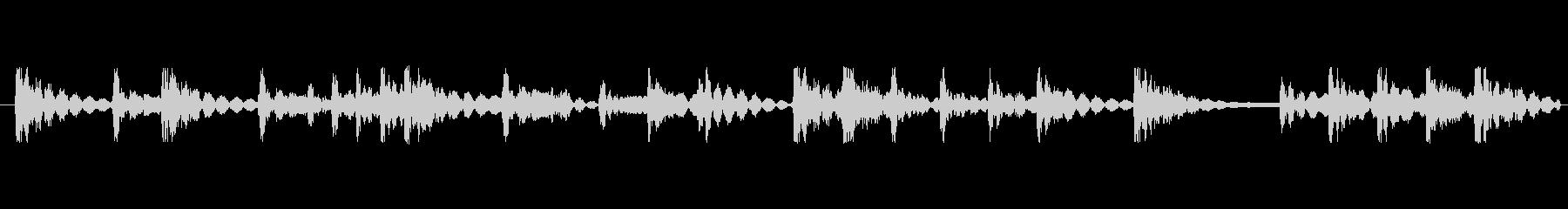 和太鼓リズムのみ音源のリバーブなし音源…の未再生の波形