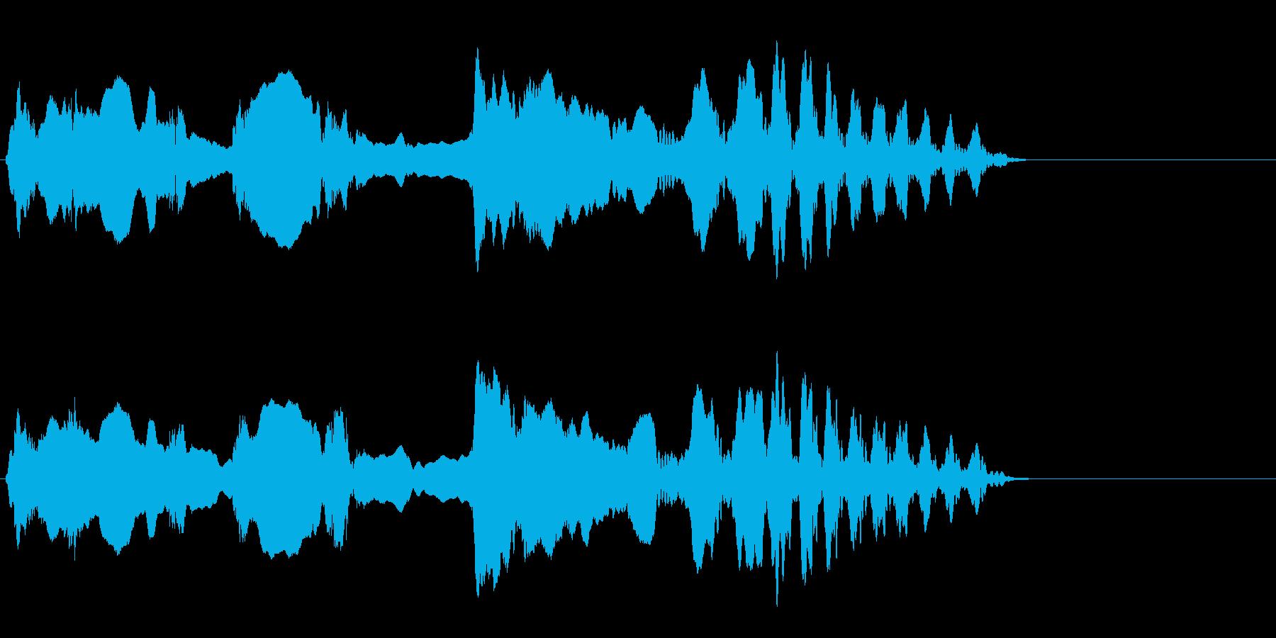 尺八 生演奏 古典風 残響音無 10の再生済みの波形