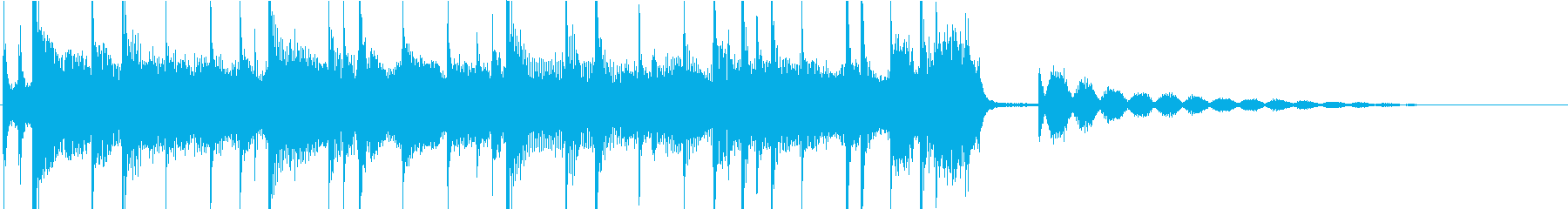 少し切ない大人なBGMの再生済みの波形