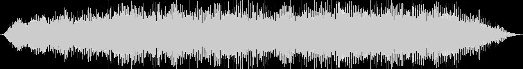 幻想的な洞窟をイメージしたBGMの未再生の波形