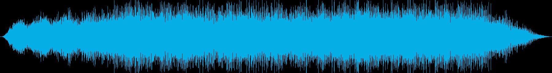 幻想的な洞窟をイメージしたBGMの再生済みの波形