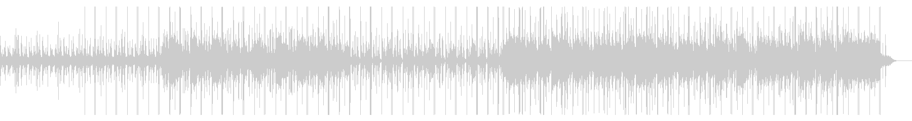 Chilly BGM with an impressive steel drum's unreproduced waveform