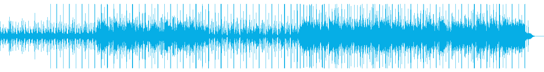 Chilly BGM with an impressive steel drum's reproduced waveform