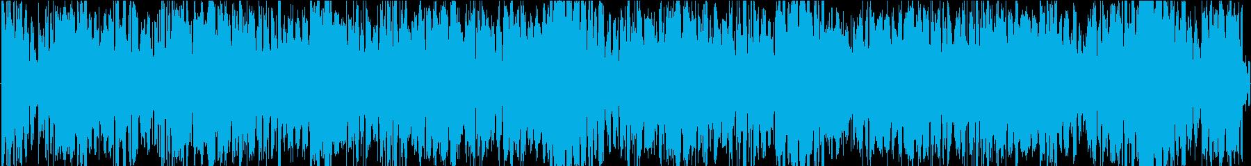シーケンス 汚いオルガン02の再生済みの波形