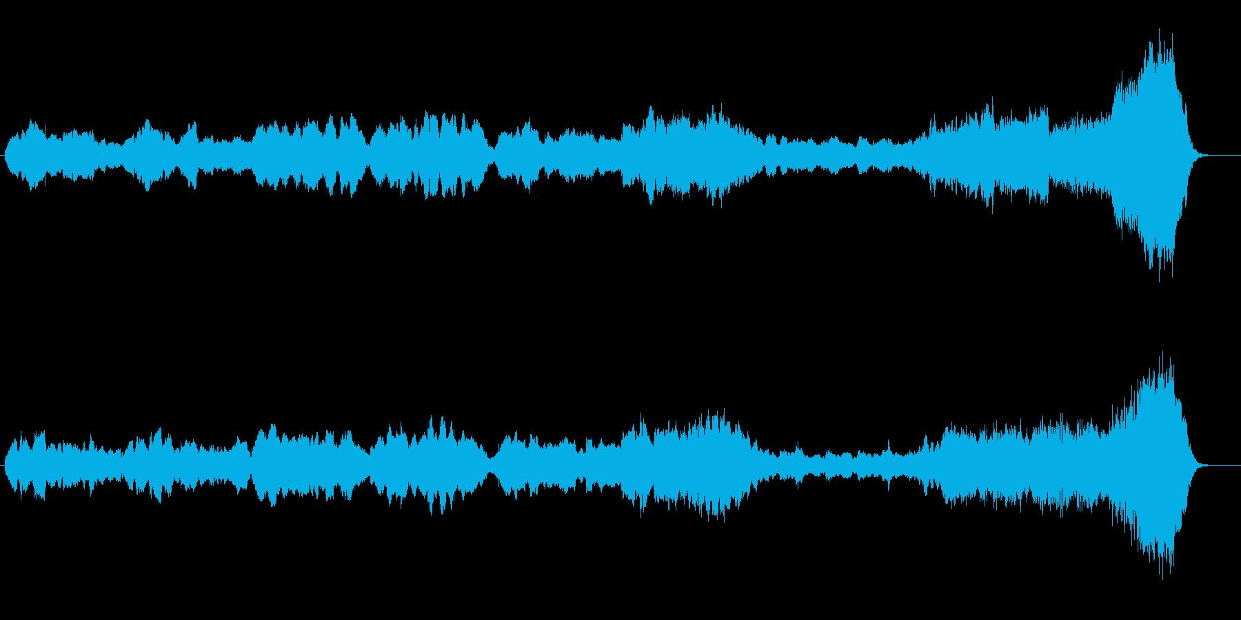 『家路』 「新世界より」から  編集版の再生済みの波形