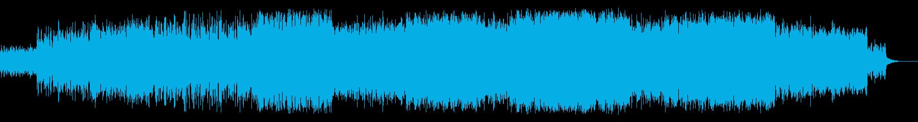管弦楽風の盛り上がりのある曲です。の再生済みの波形