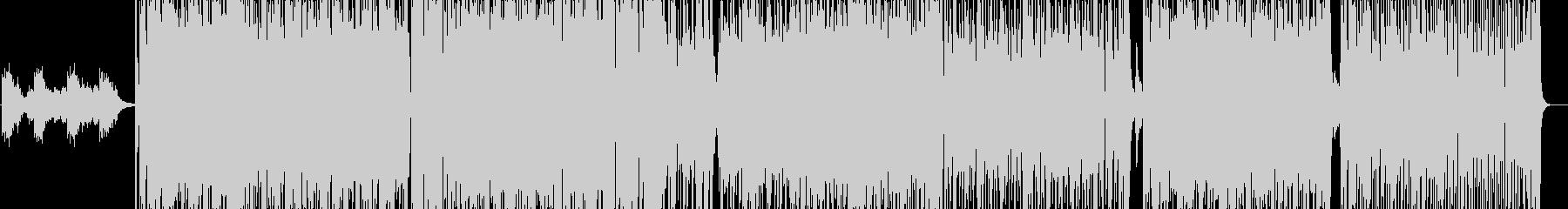 Sweet Kamehamehaの未再生の波形