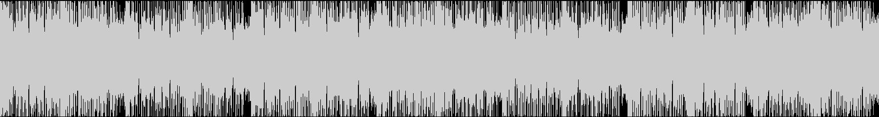 ダークなエレクトロ/ループの未再生の波形