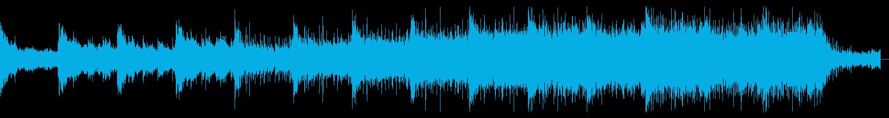 陰鬱でダークなホラーアンビエントの再生済みの波形