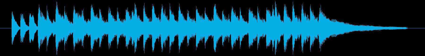 流行のコーポレート系サウンド♪の再生済みの波形