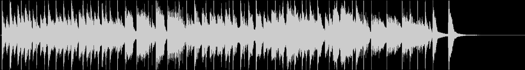 アンサンブルが魅力の30秒ジングルの未再生の波形